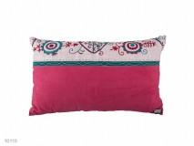 Kirgisische Decke und Kissen pink / bunt