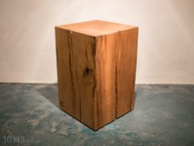 Oak Cube Side Table DeutscheEichen