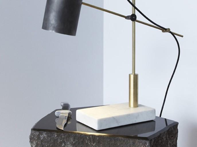 Deadstock Catherine Table Light Tischleuchte Castor Design