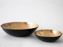 Agnesa Brass Bowl