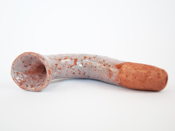 """It's Pipe"" Travis Broussard terracotta"