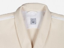 "Fyne Garments Lounge Coat ""Waffelpique"""