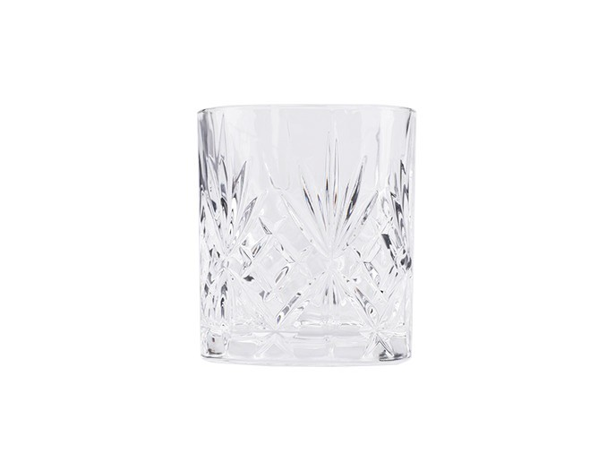 Crystal Double Old Fashioned Kristallglas