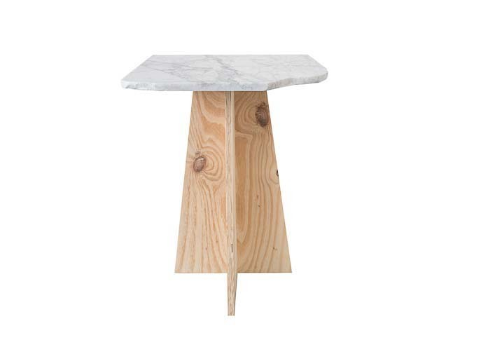 Stoney End Table High Table Travis Broussard