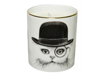 Rory Dobner Cat In Hat Cutesy Candle Duftkerze