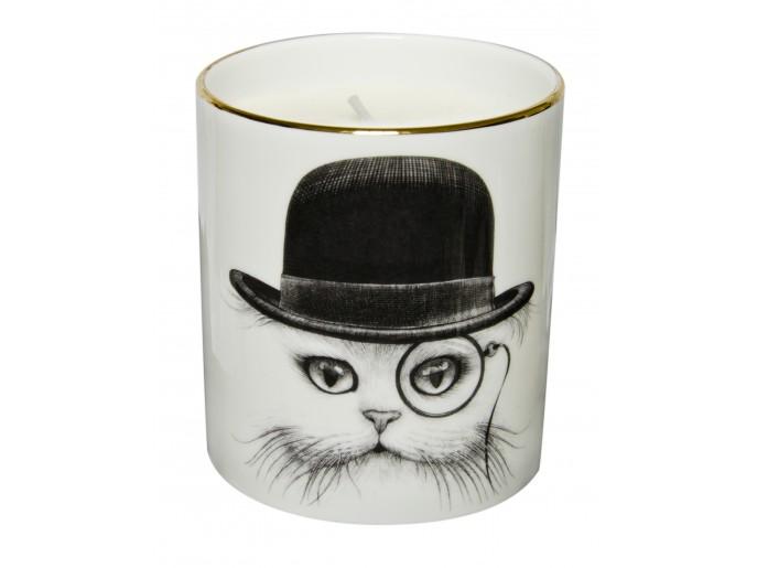 Rory Dobner Cat In Hat Cutesy Candle Duftkerze