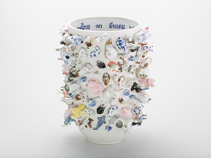 Souvenir Zoo Vase Wonderable Fairtrade